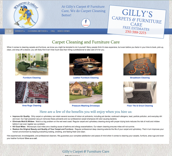 Gilly's Carpet and Furniture Care