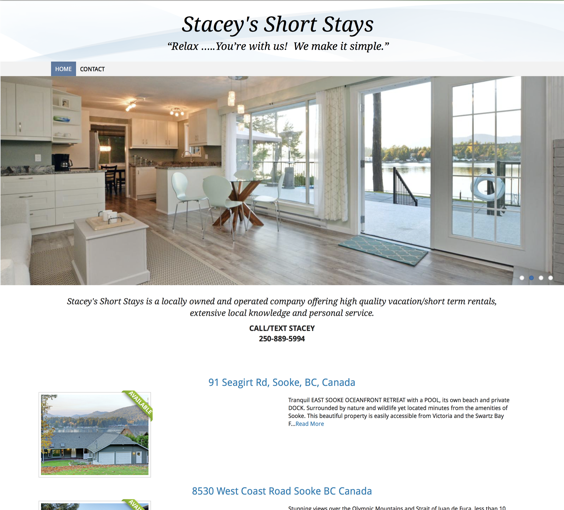 Stacey's Short Stays